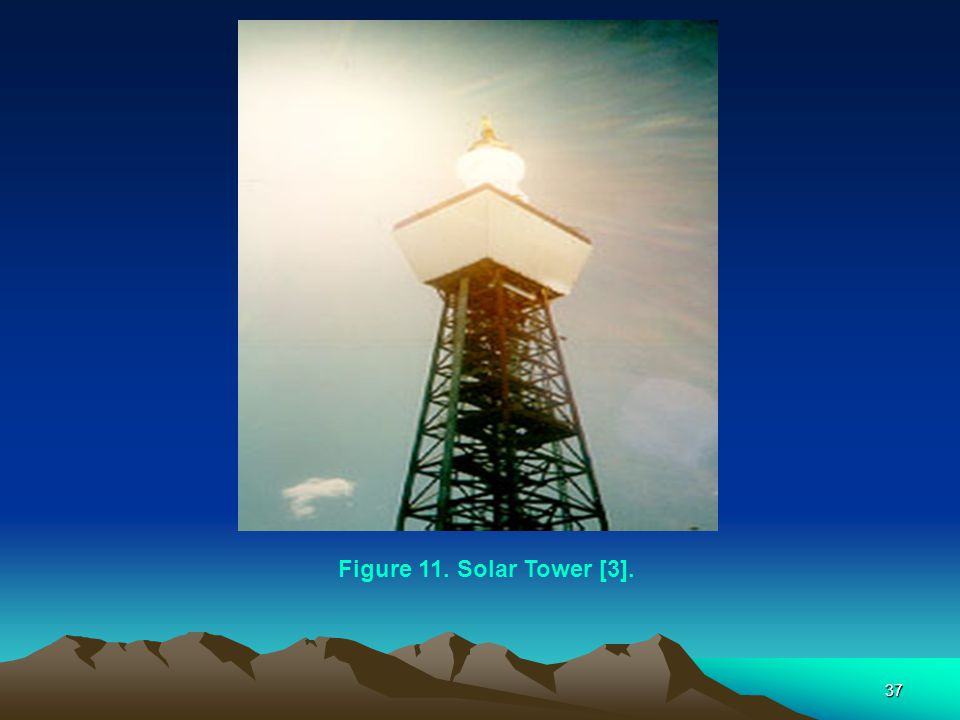 Figure 11. Solar Tower [3].